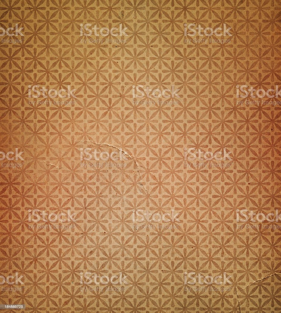 antique torn wallpaper pattern stock photo