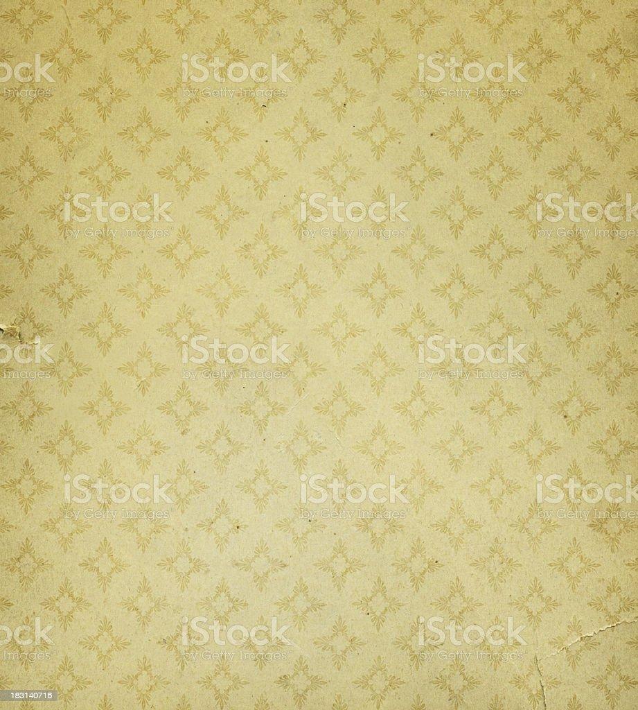 Antique torn wallpaper - Stock image .