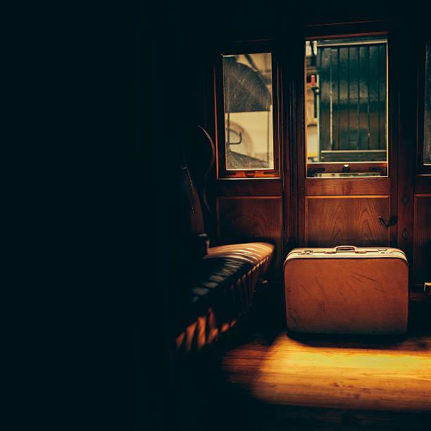 antique train cabin - järnvägsvagn tåg bildbanksfoton och bilder