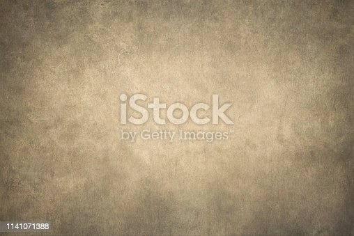 Abstract old background with gradient fine art design.