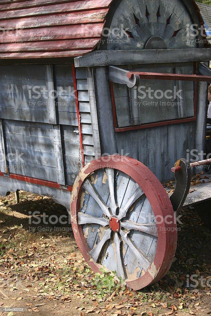 Antique Wagon stock photo