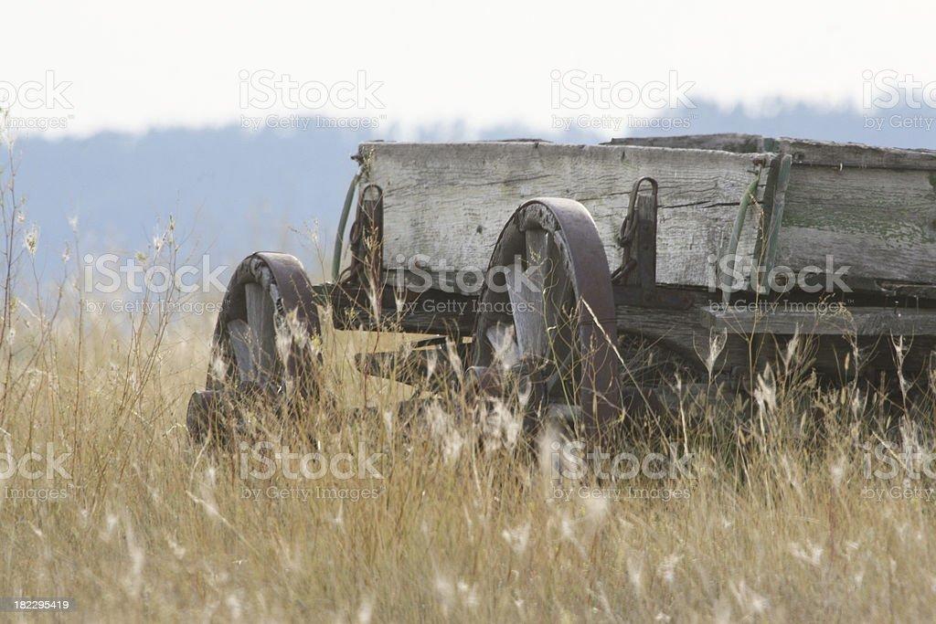 Antique wagon royalty-free stock photo