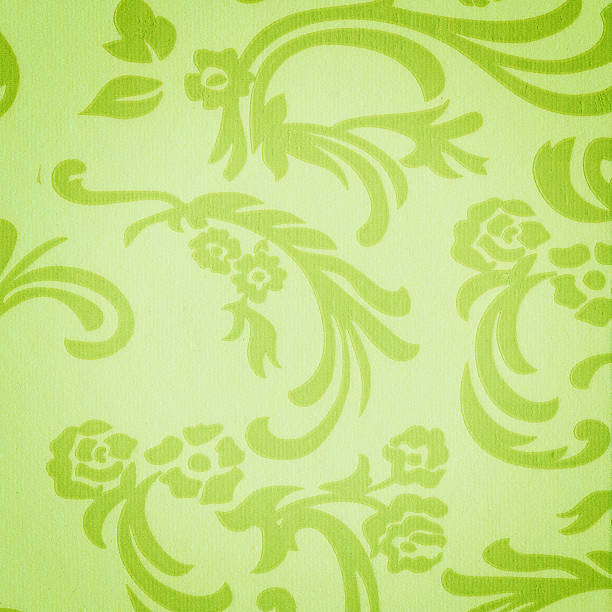antique wallpaper background - watermark stock photos and pictures