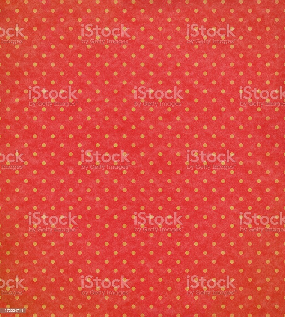antique wallpaper with dot pattern royalty-free stock photo