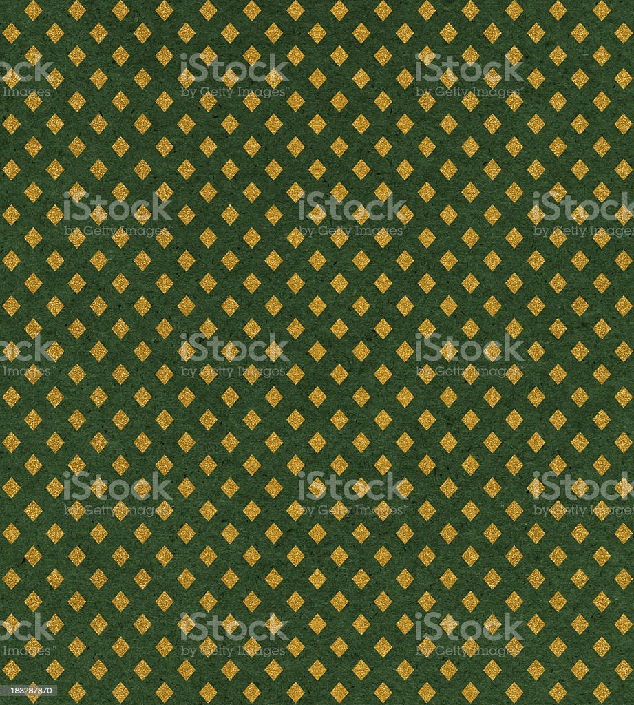 antique wallpaper with glitter royalty-free stock photo