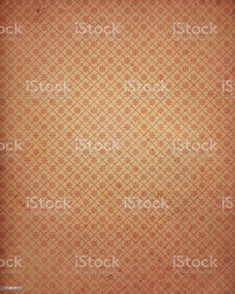 antique wallpaper with pattern royalty-free stock photo