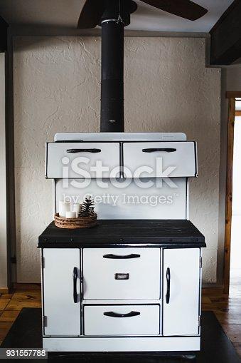 Kitchen, Fireplace, Iron - Appliance, stove, Old-fashioned