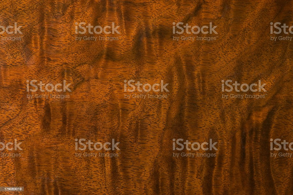 Antique wood grain with a ripple effect stock photo