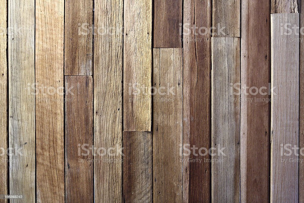 Antique wood wall royalty-free stock photo