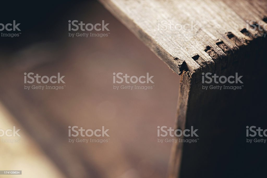 antique wooden box background royalty-free stock photo
