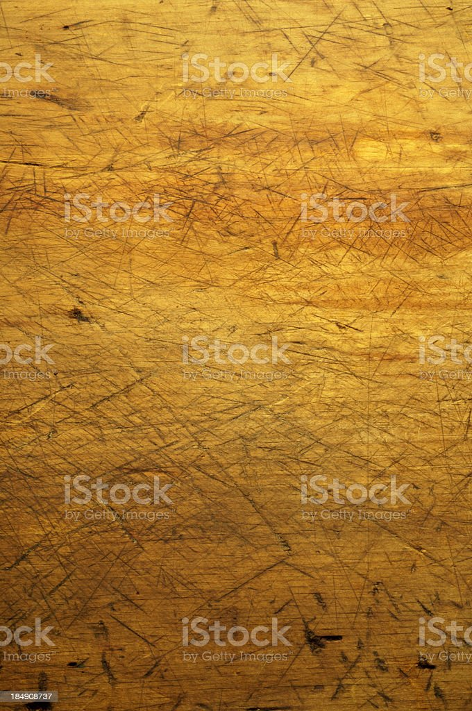 Antique Wooden Cutting Board royalty-free stock photo