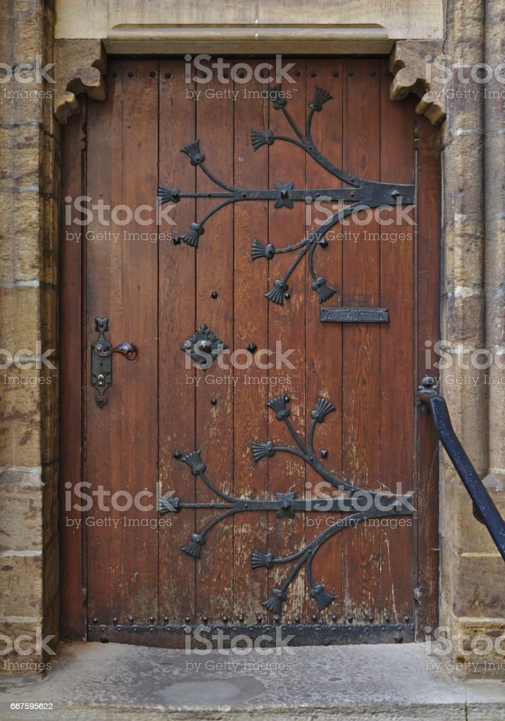 Antique wooden door with archway and steps royalty-free stock photo & Antique Wooden Door With Archway And Steps Stock Photo \u0026 More ...