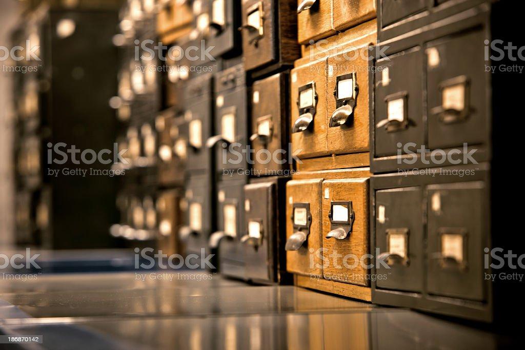 antique wooden storage boxes stock photo