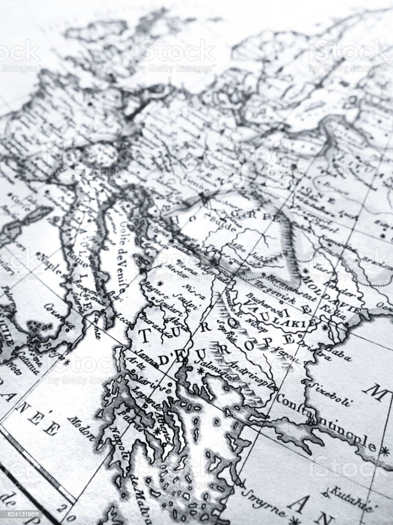 Antique world map greece stock photo more pictures of 18th century antique world map greece royalty free stock photo gumiabroncs Gallery