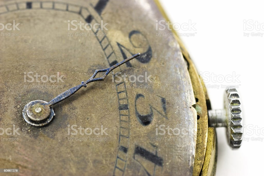 Antique wristwatch royalty-free stock photo