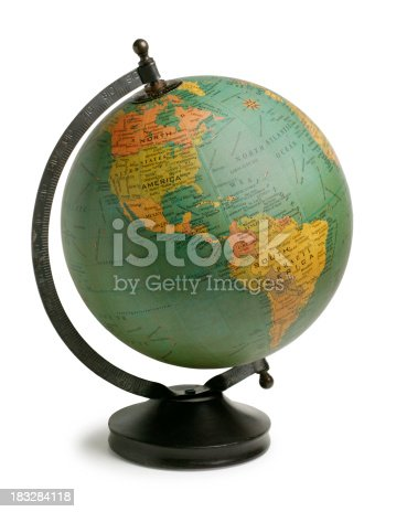 Globe showing North and South AmericaTo see more of my globe images click the link below: