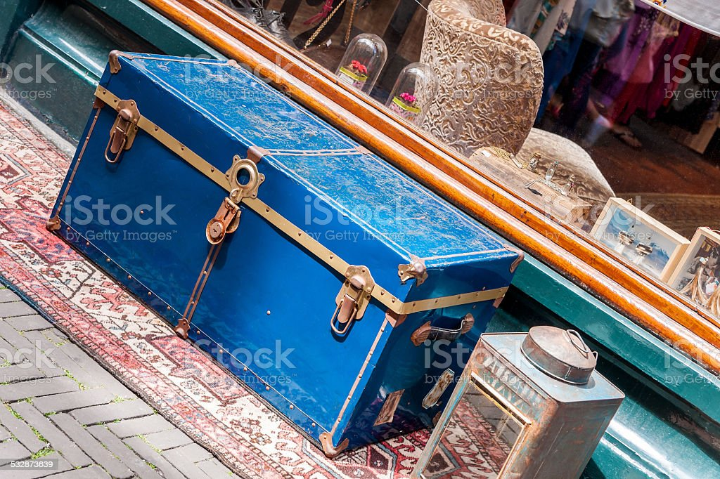 Antiques and knick-knacks stock photo