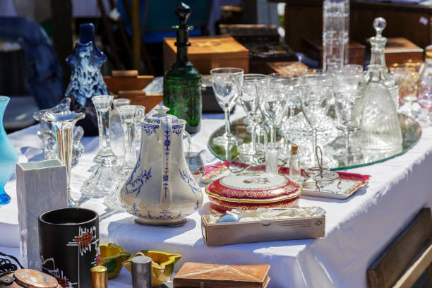 Antiques on sale in Nice, France