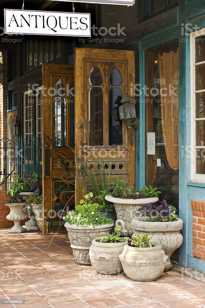 Antiques stock photo