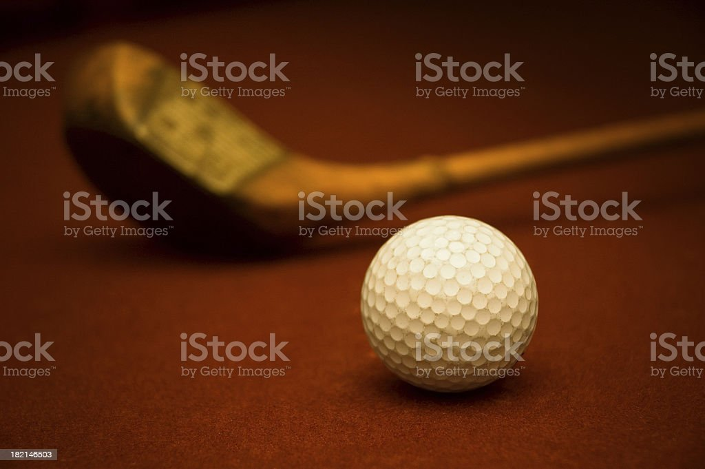 Antiquities of Golf royalty-free stock photo