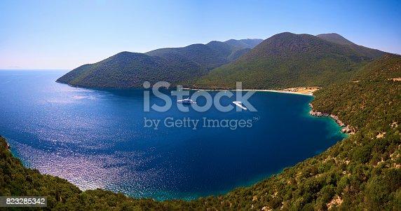 istock Antisamos bay in Kefalonia 823285342