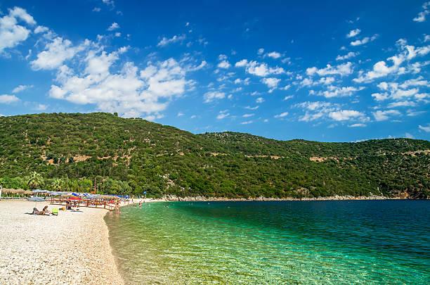 Antisamos Strand der Insel Kefalonia, Griechenland – Foto
