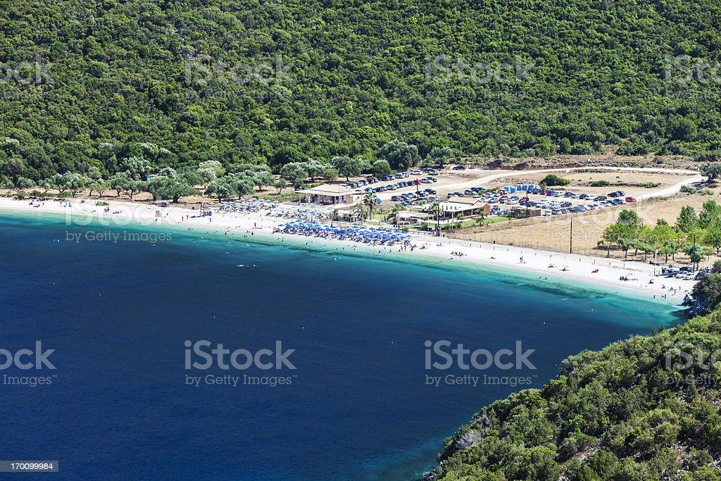 Antisamos beach royalty-free stock photo