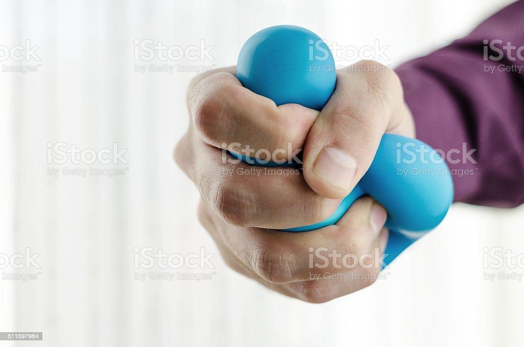 Anti-stress bolas à mão - foto de acervo