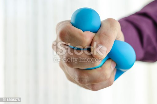 istock Anti-stress balls in hand 511598076