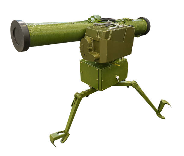 Antitanque rocket louncher - foto de stock