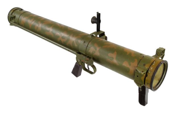 bazooka de lanzador de granadas propulsadas de Cohete antitanques - foto de stock