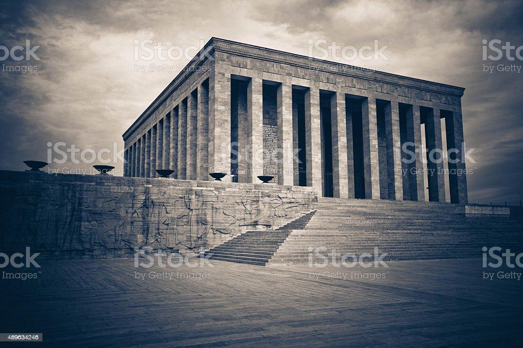 Anıtkabir,Ankara. Mausoleum of Mustafa Kemal Ataturk. stock photo