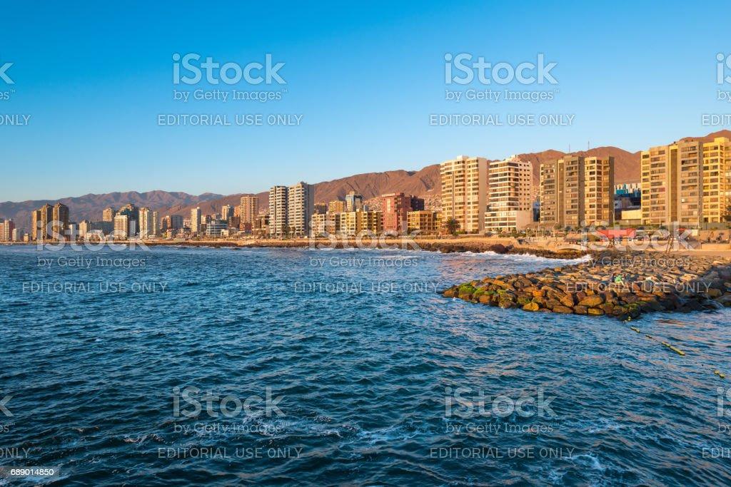 Antofagasta stock photo