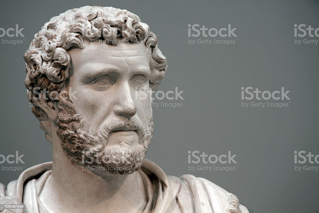 Antoninus Pius (138-161AD) Roman Emperor stock photo