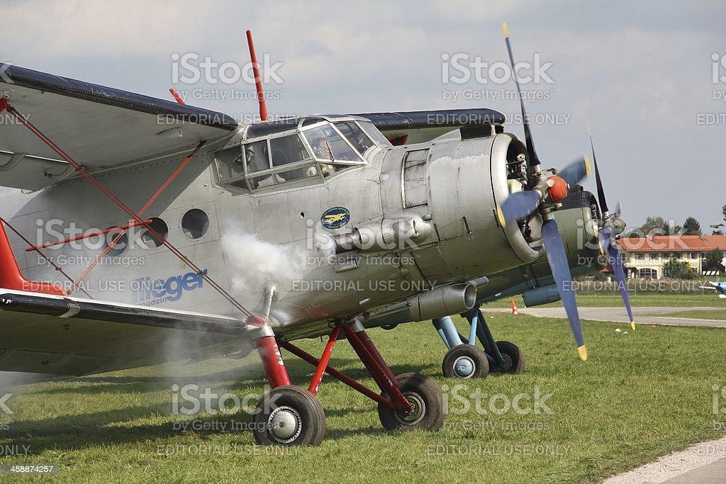 Antonov AN 2 stock photo