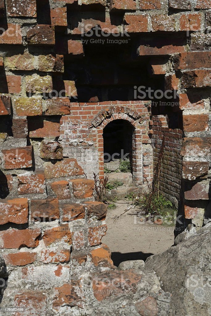 Antvorskov Castle and monastery Ruin, Denmark royalty-free stock photo