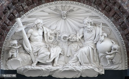 istock Antwerp – Cathedral of Our Lady, Interior 184332186
