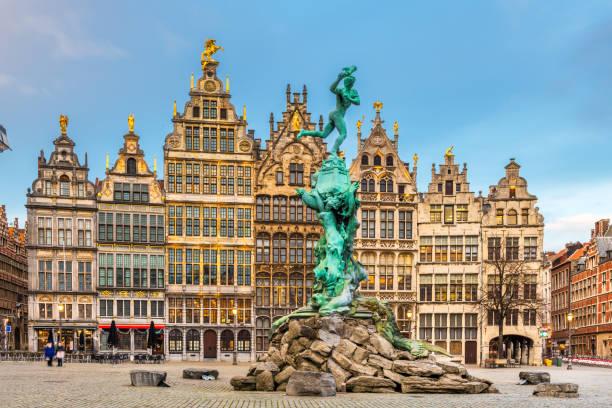 Antwerp, Belgium Cityscape stock photo