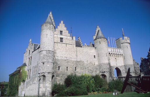 Antwerp Castle Stock Photo - Download Image Now