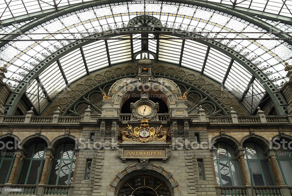 Antwerp Central  (XL) royalty-free stock photo