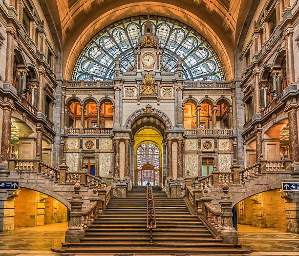 Antwerp Central Train Station in Belgium - Photo