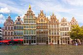 Antwerp market square, Belgium