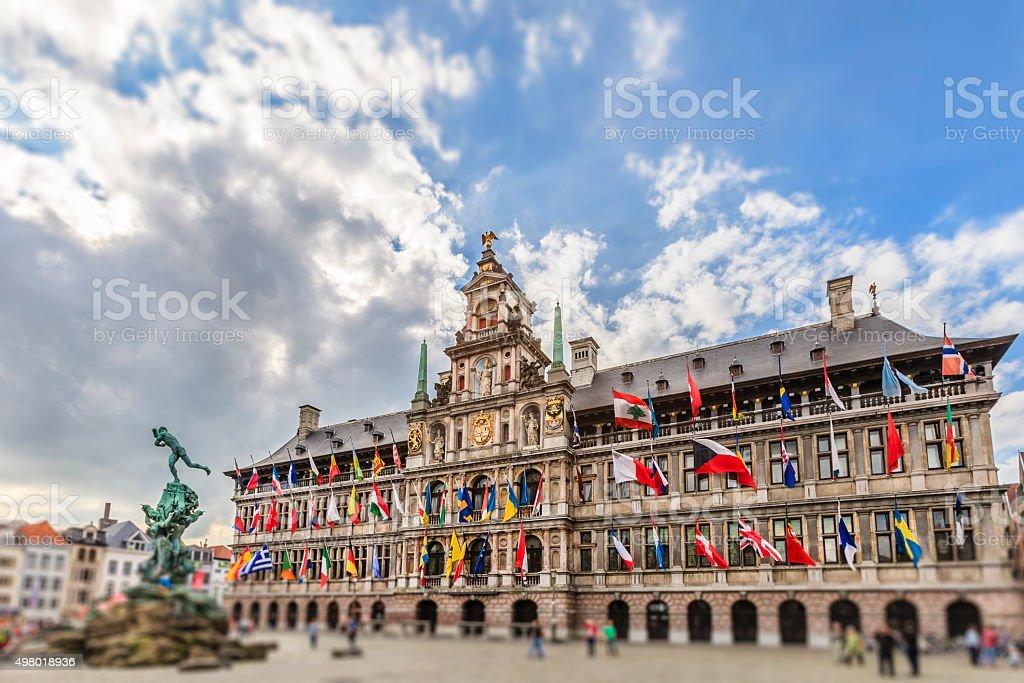 L'hôtel de ville d'Anvers,, Belgique - Photo