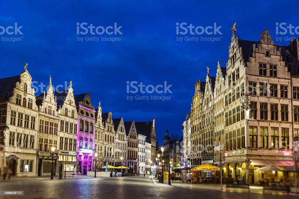Anvers, la Grand-Place, Belgique - Photo