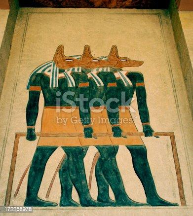 istock Anubis, jackal-headed god of the dead 172258978