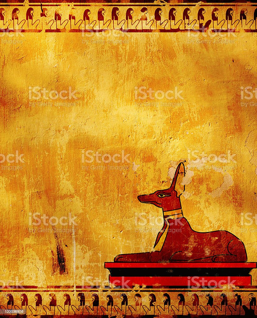 Anubis royalty-free stock photo