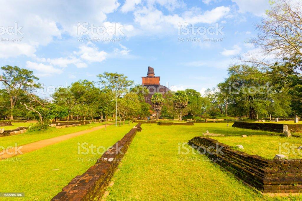 Anuradhapura Jetavanaramaya Area Wall Ruins H - Photo