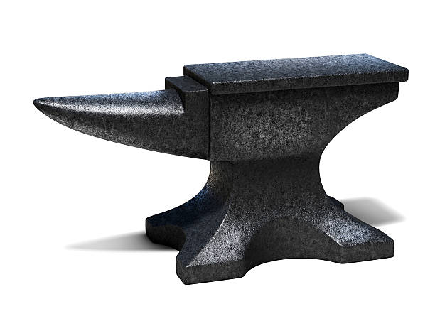 anvil 3d illustration anvil 3d illustration anvil stock pictures, royalty-free photos & images