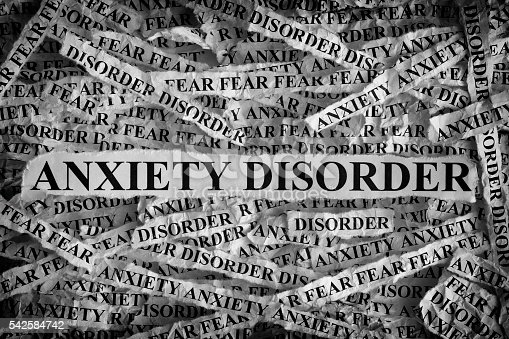 Anxiety disorder papers