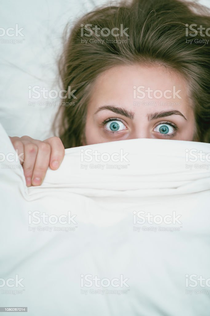 Anxiety In Adolescent Years stock photo